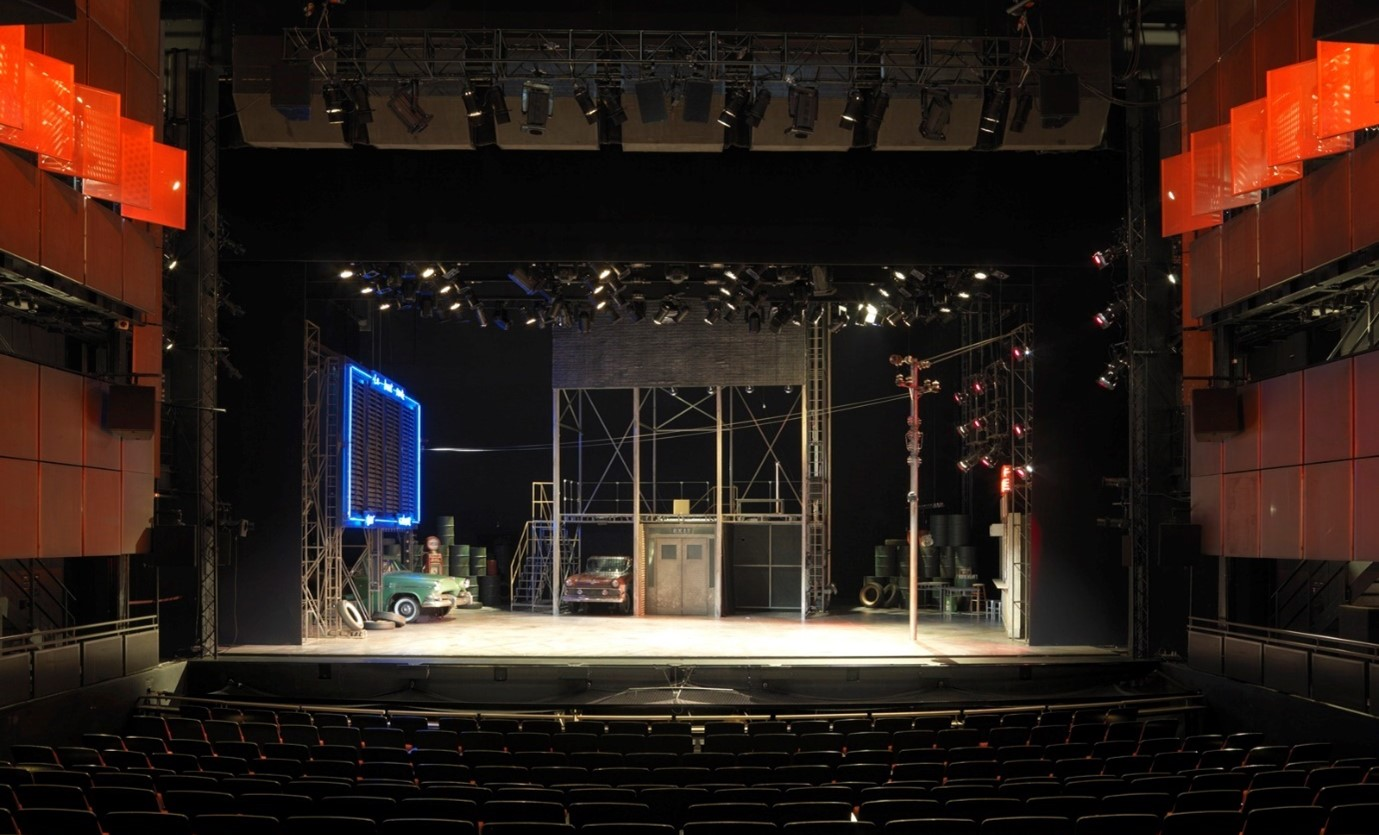 A view of Sadler's Wells Theatre stage